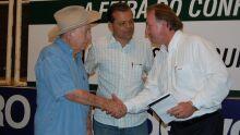 Abertura das palestras da Expo MS, com José Batista Júnior, do frigorífico JBS Friboi