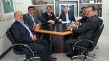 Comitiva da Acrissul em encontro com a ministra Chefe da Casa Civil, Dilma Rousseff (18.03)