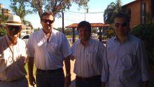Visita da diretoria da Acrissul à Associação Rural do Paraguai