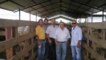 Vice Presidente da Acrissul Jonathan Barbosa em Santa Cruz na Bolivia