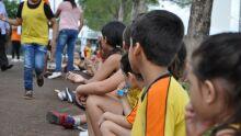 Crianças visitam a Expogrande 2016