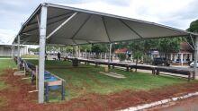 80ª Expogrande: pavilhões preparam-se para a chegada dos animais no dia 2 de abril