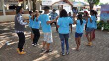 Crianças carentes do projeto social 'Filhos da Misericórdia' visitam 80ª Expogrande