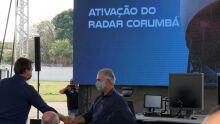 Presidente e Governador inauguram Estação de Radar em Corumbá (MS)