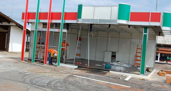 Parque recebe reparos finais para o início da Expo MS