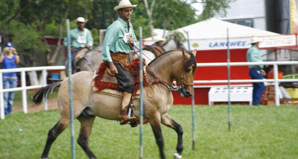 Começa Semana do Cavalo Pantaneiro na 1ª Expo MS