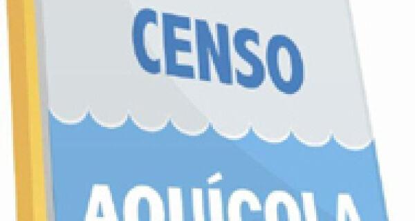 Governo federal lança Censo Aquícola nesta quinta em MS