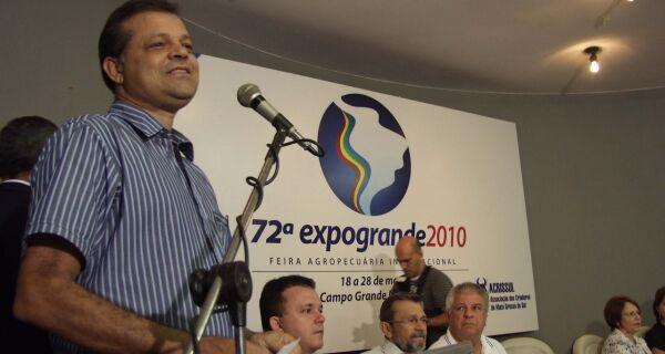 Expogrande deve movimentar 15% a mais que em 2009, prevê Maia