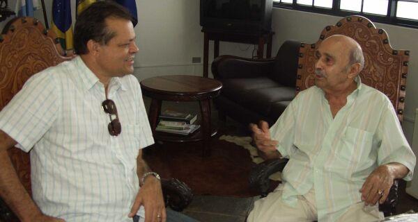 Maia recebe visita de ex-presidente da Acrissul
