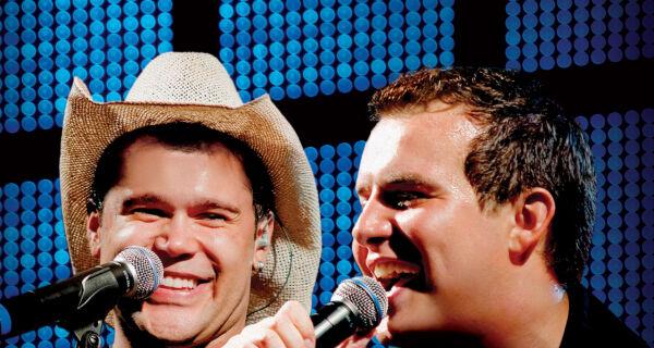 Marcos e Belutti cantam seus sucesso hoje na Expogrande