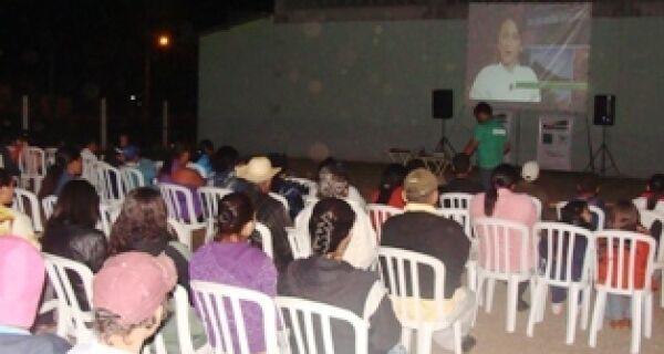 MS recebe projeto de cinema itinerante para pequenos produtores rurais