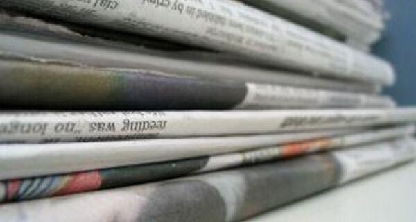 Leia as manchetes de hoje dos principais jornais do país