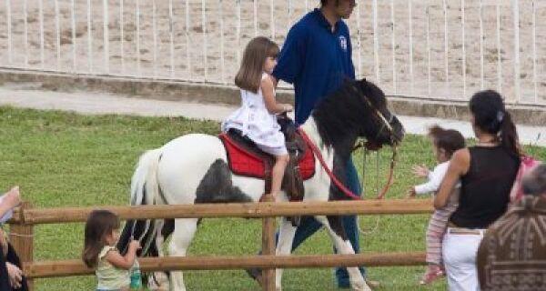 Fazendinha pioneira no Brasil é uma das atrações na 2º ExpoMS