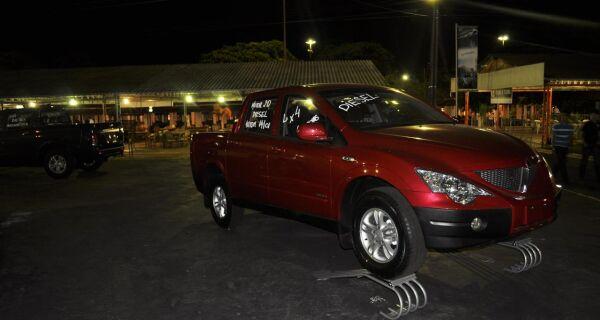 Montadora  de carros chega em Campo Grande, e está sendo lançada na ExpoMS