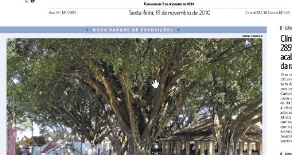 Preservação das Figueiras é destaque na imprensa de Campo Grande