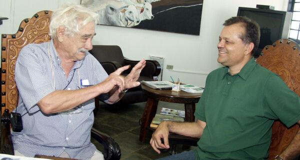 Acrissul recebe visita do pecuarista e ruralista Silvio Amado
