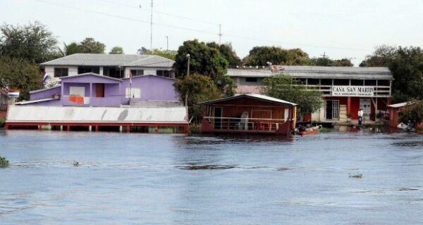 Em MS, Pantanal sofre efeitos da maior cheia dos últimos 20 anos