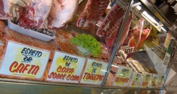 Preço da carne varia até 166% em Dourados