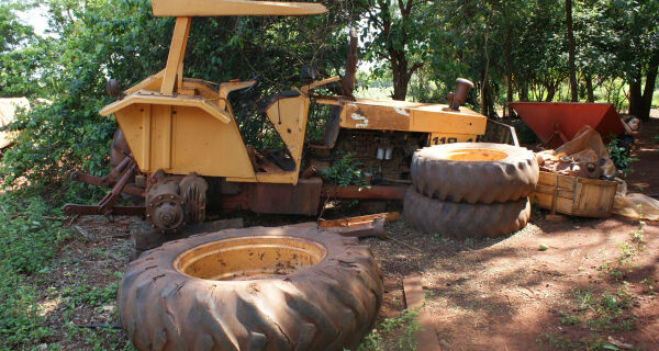 Sem maquinário, 1 mil hectares da aldeia está sem produção
