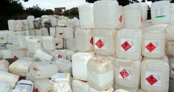 Agricultores devolvem 34 mil toneladas de embalagens em 2011