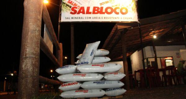 Pioneirismo do SALBLOCO rende bons resultados na Expogrande