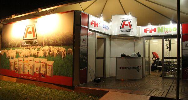 FH Pastagem liderou as vendas da Heringer na Expogrande