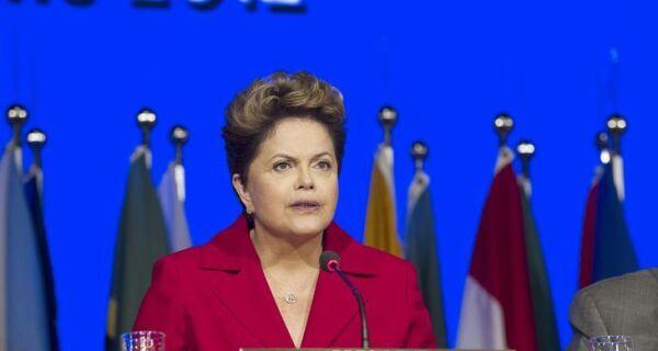 Dilma cobra de países ricos financiamento sustentável nos países mais pobres