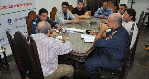 Acrissul realiza reunião para garantir segurança na Expogrande