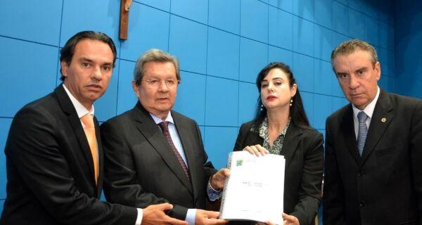 CPI do Cimi entrega cópia de relatório final à Mesa Diretora da ALMS