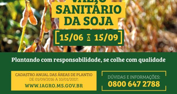 Governo lança campanha referente ao período do vazio sanitário na próxima terça-feira