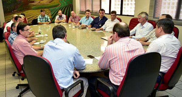Famasul recebe Governo de MS para discutir aplicação do Fundersul com setor produtivo