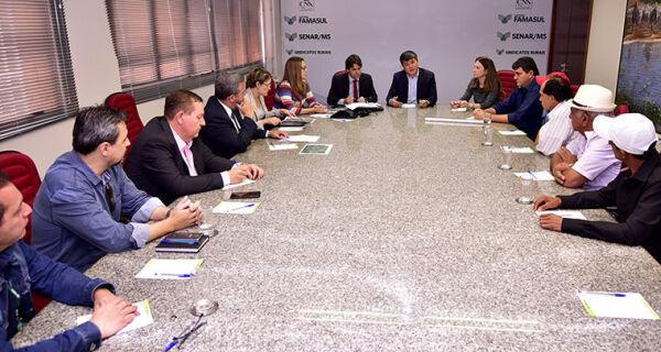 Famasul recebe Governo Federal para tratar sobre conflitos fundiários de MS