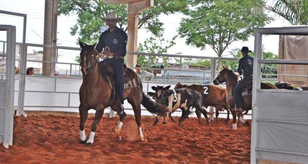 Acrissul sedia hoje etapa estadual do campeonato de ranch sorting