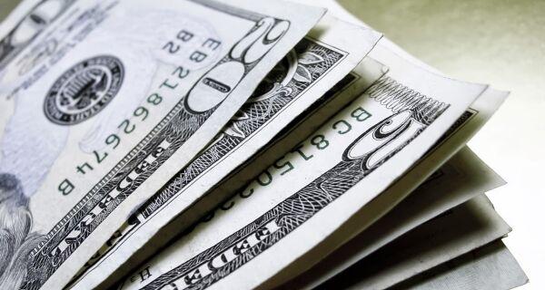 O mergulho do dólar