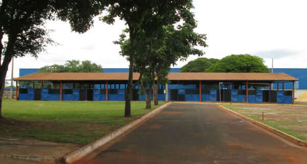 Parque Laucídio Coelho está em obras para receber 79ª Expogrande