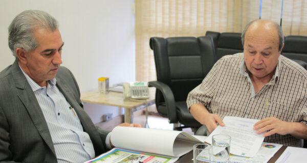 Diretoria da Acrissul se reúne com governador e reforça apoio para a 79ª Expogrande