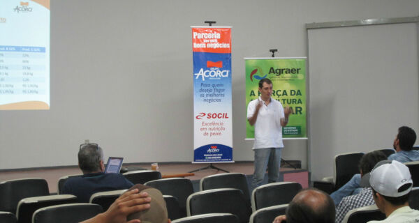 Agraer apresenta palestra sobre piscicultura durante a 79ª Expogrande