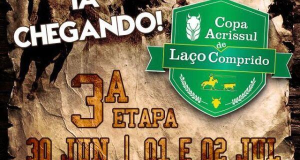 3ª Etapa Copa Acrissul de Laço Comprido acontece na próxima semana