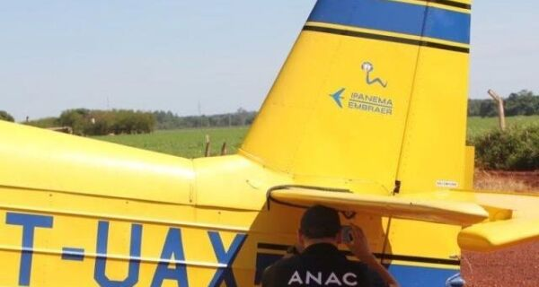 Operação contra pulverização ilegal apreende oito aviões agrícolas em MS