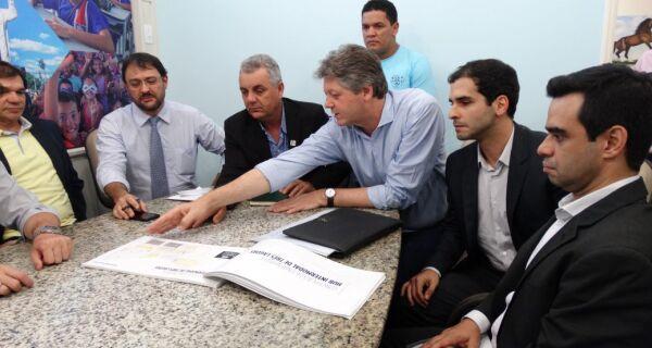 Com visita do Governo, Três Lagoas se compromete com Porto Seco