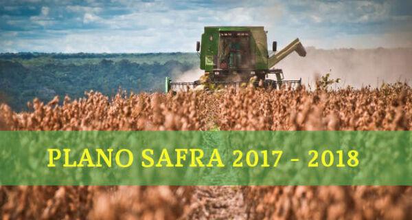 Contratados R$ 64,6 bi para financiar a produção agrícola na safra 2017/2018