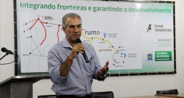 Com apoio do Governo, projeto pretende elevar logística ferroviária de MS a um novo patamar
