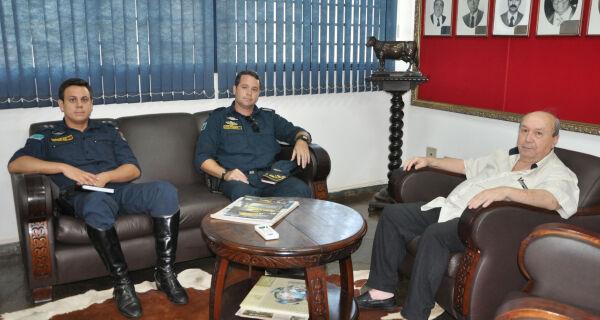 Acrissul recebe comando da Cavalaria da Polícia Militar de MS