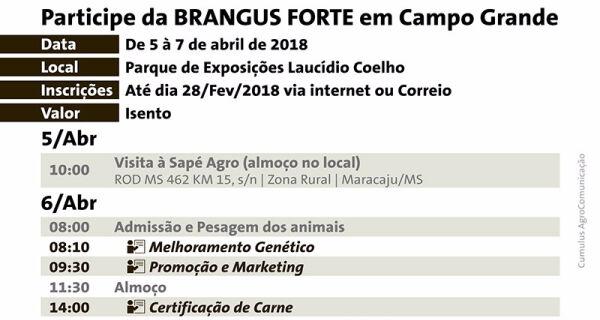 Associação Brasileira de Brangus participa da 80ª Expogrande