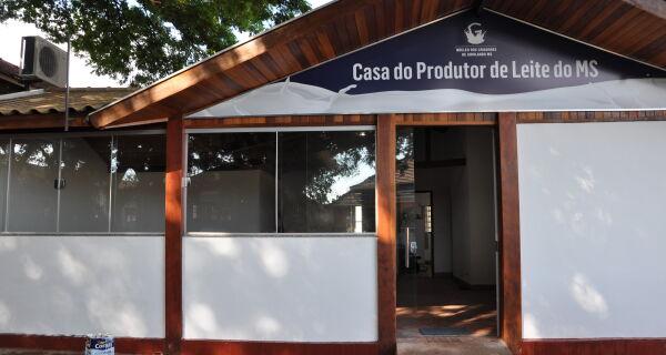 Núcleos vão inaugurar na Expogrande a Casa do Produtor de Leite