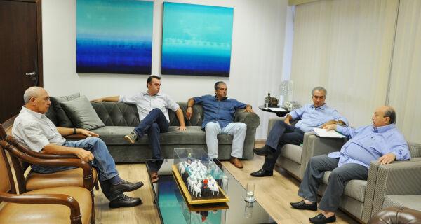 Governador Reinaldo Azambuja confirma presença na 80ª Expogrande
