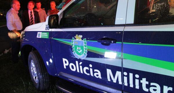 Polícia Militar reforça policiamento durante a 80ª Expogrande