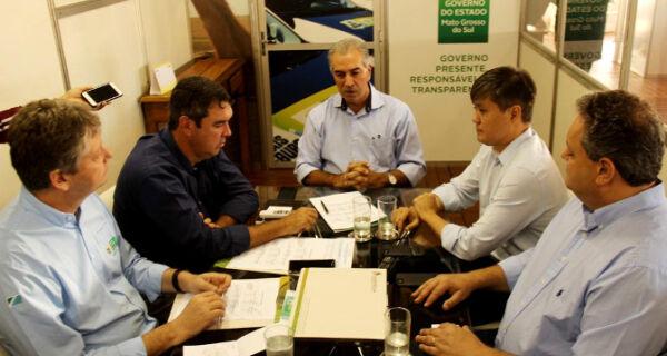 Governador anuncia safra recorde de soja em Mato Grosso do Sul