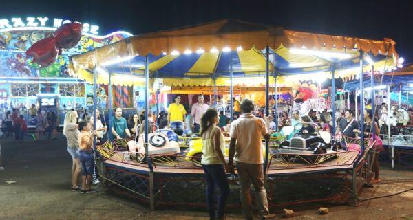 Parque de diversão é atração na 80ª Expogrande