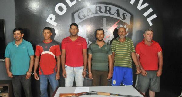 Garras prende quadrilha de ladrões de gado que agia no norte de Mato Grosso do Sul